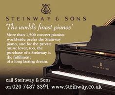 Pianos.