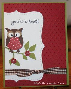 HYCCT1206 You're A Hoot by stamp300 - Cards and Paper Crafts at Splitcoaststampers
