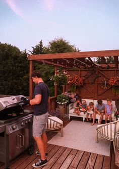 Patio design with @webergrills | In Honor Of Design