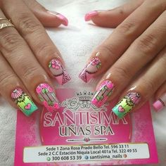 Dream catchers Nail Manicure, Pedicure, Gel Nails, Nail Saloon, Mobile Nails, Dandelion Designs, Crazy Nails, Christmas Design, Pink Nails