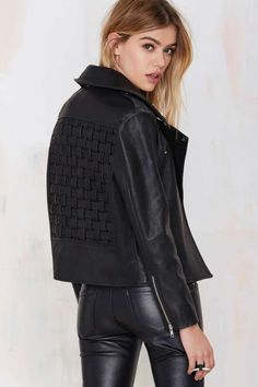 Holystone King Cross Leather Jacket - Moto | Jackets