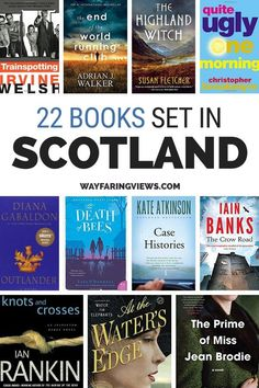 This essential reading list for Scotland crosses genre with the classics, contemporary fiction, historical fiction and travel resources. book lists for the United Kingdom and books set in Scotland | #travel #scotland