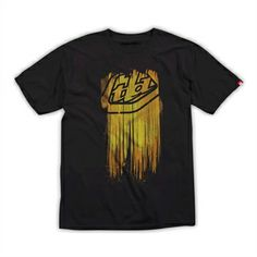 Troy Lee Designs Faded T-Shirt Black | Troy Lee Designs | Brand | www.PricePoint.com