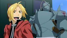 Edward and Alphonse Elric - Fullmetal Alchemist Brotherhood