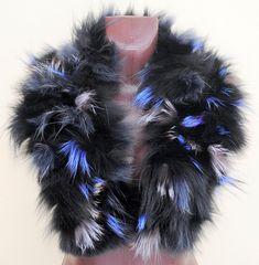 20% OFF -Luxury  Shawl fur,  Collar fur , Natural Fur, Ladie's shawl -  collar, scarf, Genuine, Fur, Scarves
