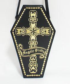 Lolibrary   Angelic Pretty - Bags - Brilliant Coffin Rucksack