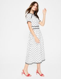 Kimberly Embroidered Dress