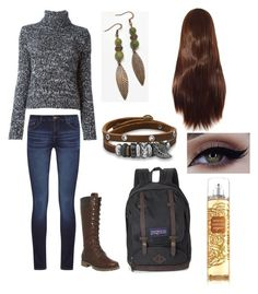 """""""MyStyle"""" by maisie-phillips on Polyvore featuring Moncler, DL1961 Premium Denim, Timberland, JanSport and BillyTheTree"""
