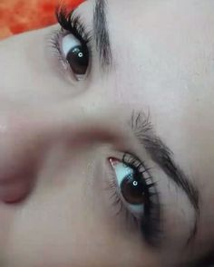 """2 """"Μου αρέσει!"""", 1 σχόλια - Lashes by Dimitra (@dimitra.gkouzou) στο Instagram: """"Βλεφαρίδες εξτένσιον. . . . . #eyelashes #permanentmakeup #hairstroking #eyebrows #russianvolume…"""""""