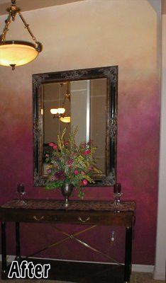 Murals & Faux Finishing - Tips, Advice, and Ideas: Faux Fade Paint Finish