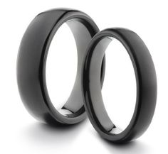 His & Her's 6MM/4MM Titanium Classic Styled Brushed & Polished Black Comfort Fit Wedding Band Ring Set (Available Sizes 4-11 Including Half Sizes) TWG Titanium. $59.95. 60 Day Money Back Guarantee. Hypo-Allergenic Aerospace Grade Titanium. Comfort Fit Design. Lightweight & Durable. CALL OR EMAIL w/ SIZES - Available in Sizes from 4 through 11 Including Half Sizes. Save 88%!