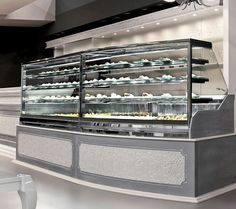 Refrigerated counter display case / for pastry shops / for bakeries DIAMOND  Oscartek