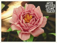 Somewhere between a rose and a peony… :) - origami around