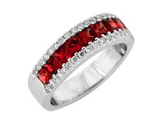 Gregg Ruth Red Diamond Ring this would be pretty w/layla's engagement ring