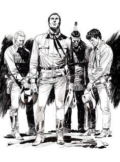 Claudio Villa : disegno (dal sito Sbe) realizzato in occasione di Lucca Comics