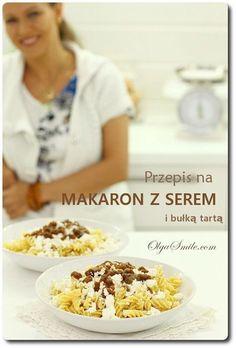 Przepis na makaron z serem na słodko