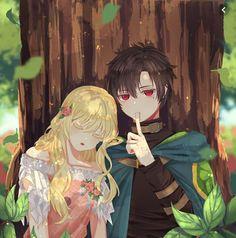 Who made me a princess X Lucas Manga Anime Girl, Anime Kiss, Anime Couples Manga, Cute Anime Couples, Manga Art, Manga Collection, Anime Princess, Anime Love Couple, Beautiful Anime Girl