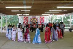 Choctaw Indian Fair, Philadelphia, MS. Every year in July.