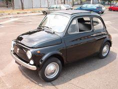 fiat 500 | Vendo ad amatori Fiat 500 nera, anno 1968, targa e documenti originali ...