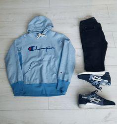 #Outfit #Outfitgrid #grid #outfitstreetwear #streetwear #heatradar #champion #asics #teamasics #asicsgeliii #denim #streetwearoutfit #blackandwhite #blackandblue #blue #babyblue #followme #hype #hypebeast