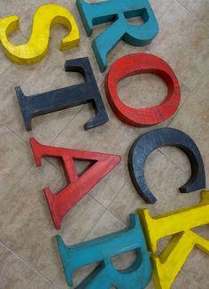 Letras La Factoría Plástica