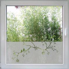 Branches Fenstertattoo