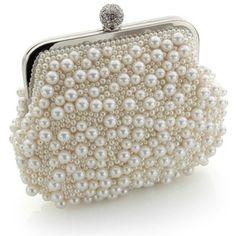 Pearl-encrusted Clutch