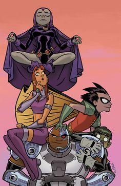 Teen Titans by Joe Quinones