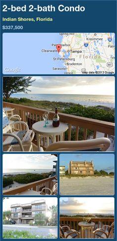 2-bed 2-bath Condo in Indian Shores, Florida ►$337,500 #PropertyForSale #RealEstate #Florida http://florida-magic.com/properties/82932-condo-for-sale-in-indian-shores-florida-with-2-bedroom-2-bathroom