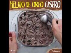 Como Hacer Helado De Oreo Casero - Facil & Sencillo