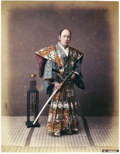 Фото реальных самураев 19го века + старые фото