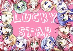 Lucky Star~~Watch many anime before this one.  Only then will I allow you to watch this.  It's fantastic! Buuut, you probably won't get half the hilarity of it unless you've seen the cliches and famous animes Lucky Star parodies :3