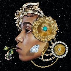 #Art #Sketch #Drawing #Illustration #Painting #DigitalArt #GraphicDesign #Design #Model #Face #Jewelry #Adornment #African #BlackWoman #Queen #Regal #FKAtwigs @fkatwigs ■ ARTIST : @douglashale #DougLaShale ■ #BlackArt #BlackArtist #RandomMishaness #MishaLi777 #DailyArtInspiration ❤ #ArtLife