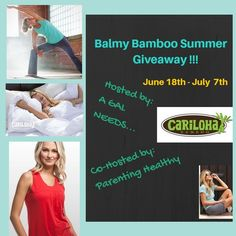 Balmy, Bamboo Summer' Giveaway 07/07 ~ Tales From A Southern Mom