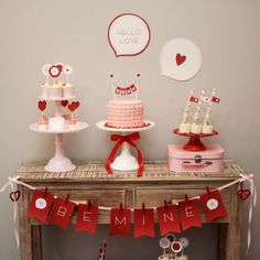 Hello Love Valentine's Day Party | CatchMyParty.com