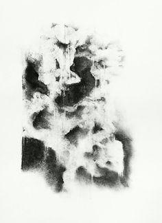 Erin Hegg | Untitled, 2013 | charcoal