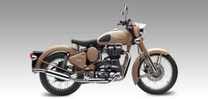 For offers on Royal Enfield Classic Desert Storm Motorcycle contact your nearest Royal Enfield Two Wheeler showroom. All offers are solely at the discretion of dealer in Hyderabad! Enfield Bike, Enfield Motorcycle, Motorcycle Style, Motorcycle License, Biker Style, British Motorcycles, Vintage Motorcycles, Indian Motorcycles, Royal Enfield Wallpapers
