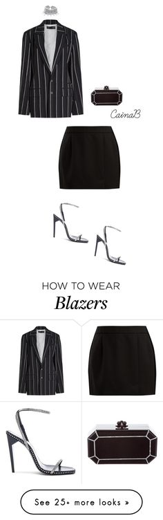 """""""Untitled #172"""" by cainabrown on Polyvore featuring Haider Ackermann, Child Of Wild, Yves Saint Laurent, Bella Freud and Edie Parker"""