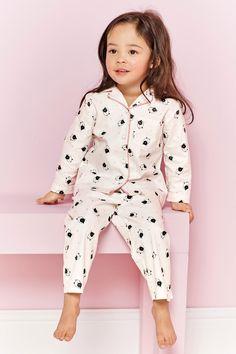 Acheter Cat Imprimer Bouton Grâce Pyjamas (12mths-8ans) à partir de la boutique en ligne Next Royaume-Uni