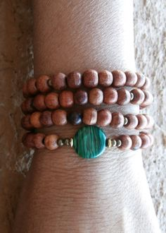 Change108 Mala Necklace or bracelet with by LifeForceEnergy, $31.00