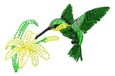 Humingbird Embroidery Design  Instant Download by JEmbroiderynApplique, $2.00