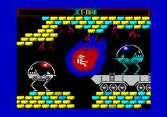 ZX Spectrum fictional game screen