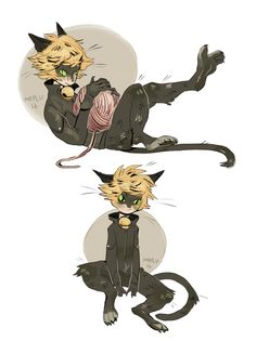 """akas-ladybug:  """" pluviofleur:  """" is this pocket sized bc if it is i want 50  """"  ACTUALLY CAT CHAT NOIR! XD  """""""