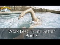 Sprint Triathlon Training- How to Swim Faster (Total Immersion Swim Lesson) - YouTube