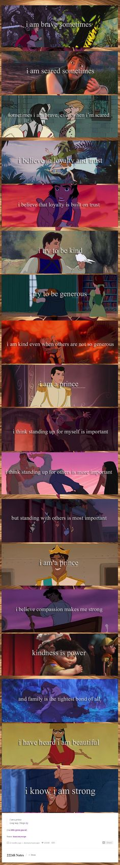 Love this! This quote isn't just for us princesses, it applies to princes too :)
