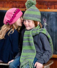 Hat and Scarf for Boy