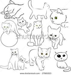 Black White Cartoon Stock Photos, Images, & Pictures   Shutterstock