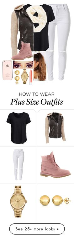 """""""""""I'm Just In That Mood"""""""" by justsopretty on Polyvore featuring New Look, Echo, Black Rivet, Timberland, Clinique, Lacoste, Sevil Designs, women's clothing, women's fashion and women"""