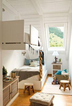 Idée aménagement pour une petite chambre avec 2 enfants.