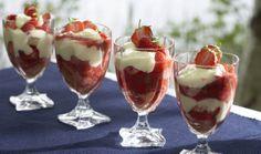 Mansikkatrifle, resepti – Ruoka.fi